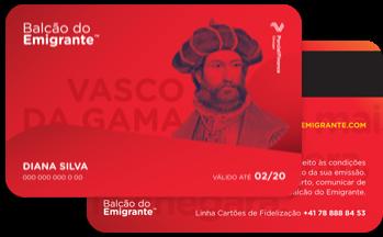 Cartão Fidelização Vasco da Gama