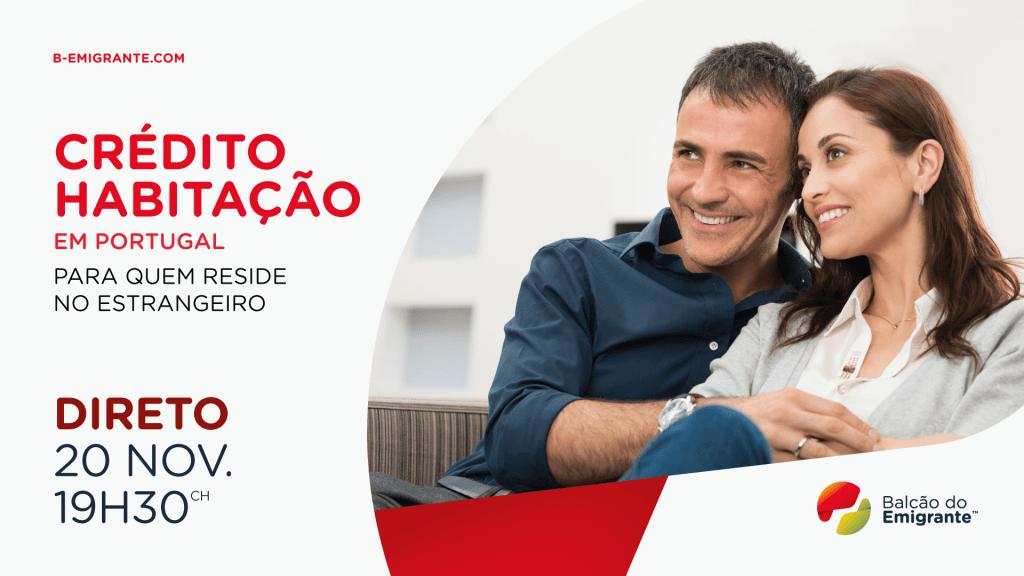 DIRETO Crédito Habitação em Portugal para residentes no estrangeiro