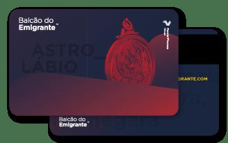Cartão Astrolábio