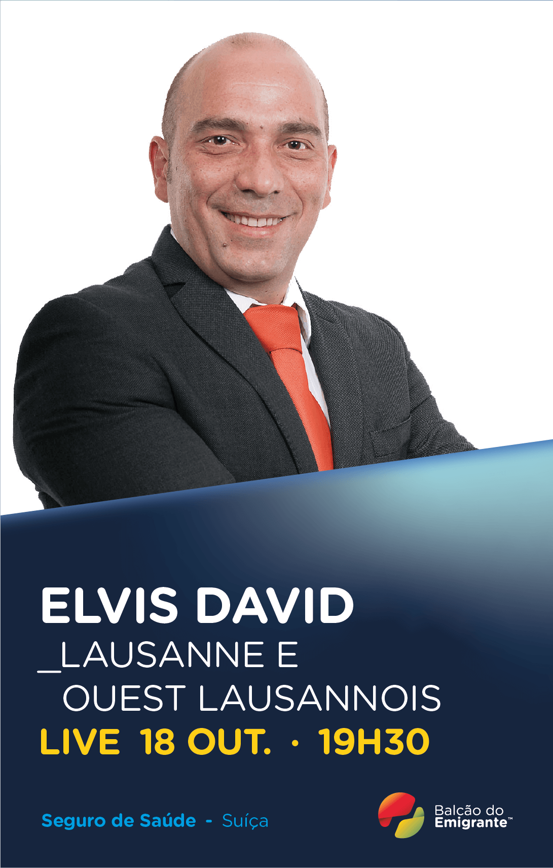 Elvis David - Especialista em Seguro de Saúde em Lausanne e Ouest Lausannois