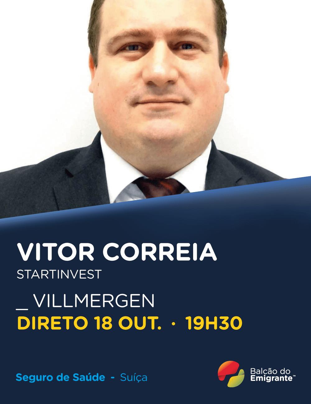 Vitor Correia - Especialista em Seguro de Saúde em Villmergen