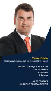 Xavier Costa - Responsável do Balcão do Emigrante em Bulle, Fribourg