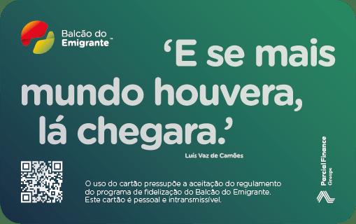 Cartão de Fidelização Caravela - Balcão do Emigrante