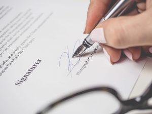 Reconhecimento de assinaturas