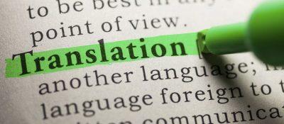 Traduções e certificações